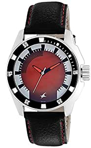 Fastrack Analog Red Dial Men's Watch -NK3089SL10