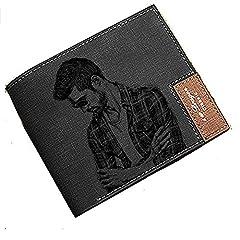 Idea Regalo - Portafogli in pelle personalizzati personalizzati per uomo portafoto in pelle -Un regalo perfetto per compleanno/Natale / papà personalizzato per uomo e papà