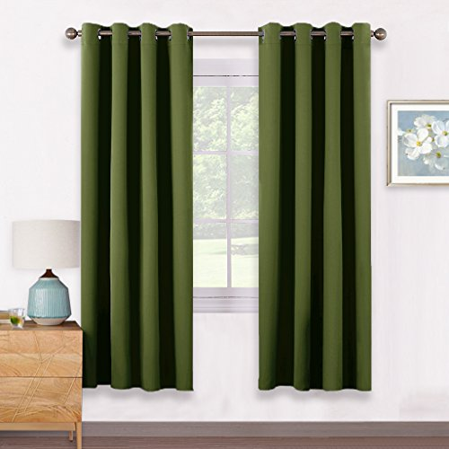 Olive Green Curtains: Amazon.co.uk