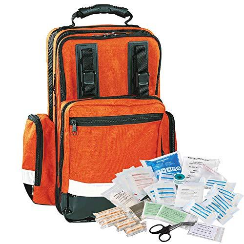 SÖHNGEN 0406322 Notfallrucksack Octett, orange, Nylon, 35x48x22 cm, ASR A4.3/DIN 13157 aus Kunststoff