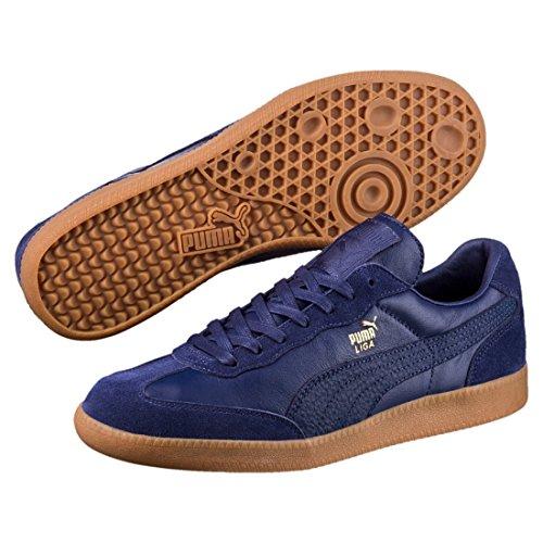 Puma Liga Leather Leder 364597 Retro Sneakers Schuhe Ikone, Größe:UK 5½ - - Liga Suede Puma