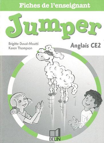 Anglais CE2 Jumper : Fiches de l'enseignant