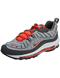 NIKE Air Max 98 Messieurs Gris Chaussures Homme Sneaker Baskets