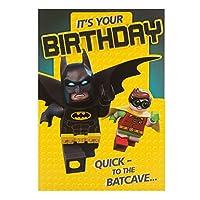 Hallmark Lego Batman Birthday Card