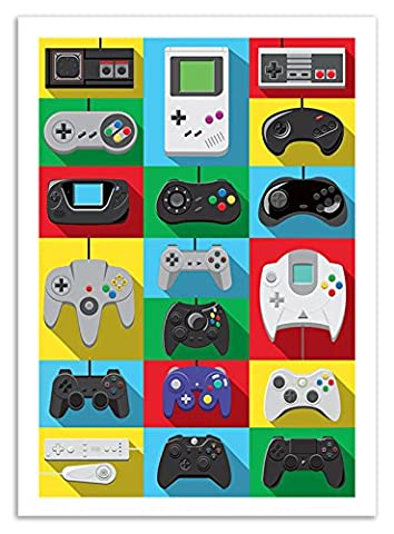 Affiche 70 x 100 cm - Art-Poster - Legendary Controllers