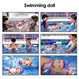 Electric Swimming Doll for Bath Time, Kids Bath Toy Waterproof Swimming Doll Bath Doll Toy