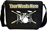 Drum Kit - Personalisierte Sonderanfertigungen Musik Noten Tasche Sheet Music Document Bag MusicaliTee
