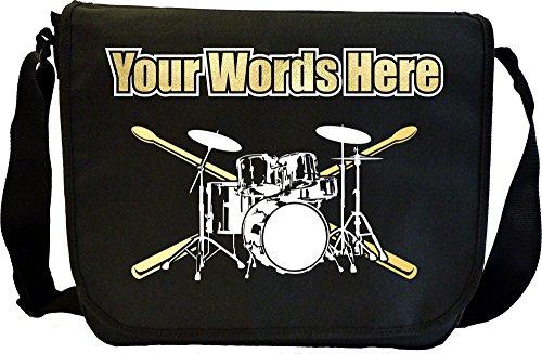 Drum Kit - Personalisierte Sonderanfertigungen Musik Noten Tasche Sheet Music Document Bag MusicaliTee