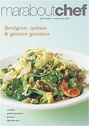 Boulgour, quinoa et graines germées