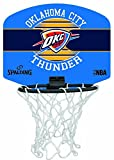 Spalding NBA Miniboard Oklahoma City Basketball, Mehrfarbig, One Size