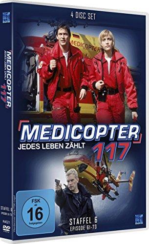 Medicopter 117 - Staffel 6, Folge 61-73 [4 DVDs]