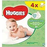 Lingettes Pour Bébés Huggies Soins Naturels Quads 56 -