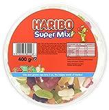 Haribo Supermix Drum Sweet Foam Gums, 400 g, Pack of 1