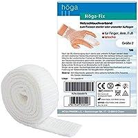 Höga Fix Netzschlauchverband, elastischer Schlauchverband zum Fixieren von Verbänden - Gr. 2 - 1 m, für Finger... preisvergleich bei billige-tabletten.eu