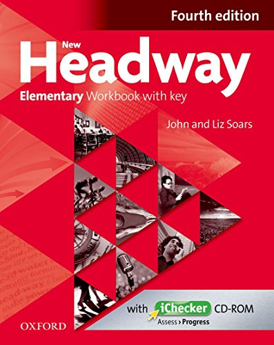 New Headway : Elementary Workbook with key (1Cdrom)