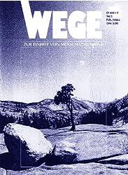 Wege 94/1: Zur Einheit von Mensch und Natur