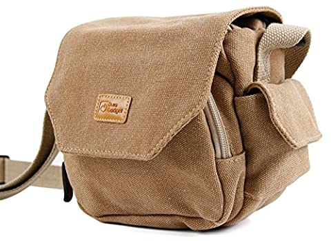 Weich gepolsterte Tasche | Etui | Case | Schultertasche, verschiedene Fächer, für Steiner Safari Fernglas UltraSharp