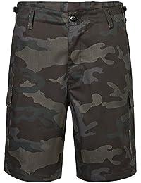 Brandit Hombres US Ranger Pantalones Cortos Dark Camo