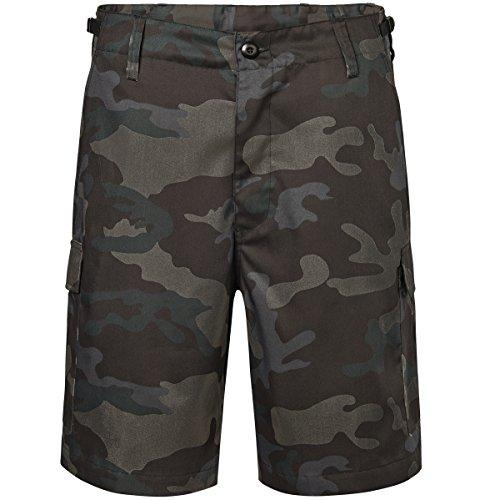 Brandit Herren US Ranger Shorts Dark Camo Größe 4XL - Für Männer Military-gürtel