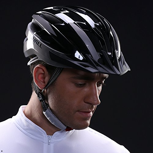 Livall Fahrradhelm MT1 mit Rücklicht, Blinker und SOS-System (schwarz/anthrazit) - 4