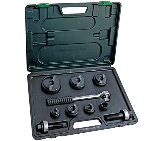 Pro-Lift-Montagetechnik Blechlocher Set mit Knarre, 22,5mm - 61,5mm, CC 6, 00241