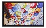 HMT Regenschirm 585006 Fußmatte, Polyamid, bunt, 45 x 75 cm