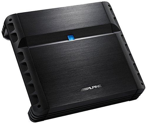 Alpine PMX-F640 4.0 Auto Cablato Alluminio, Nero amplificatore audio