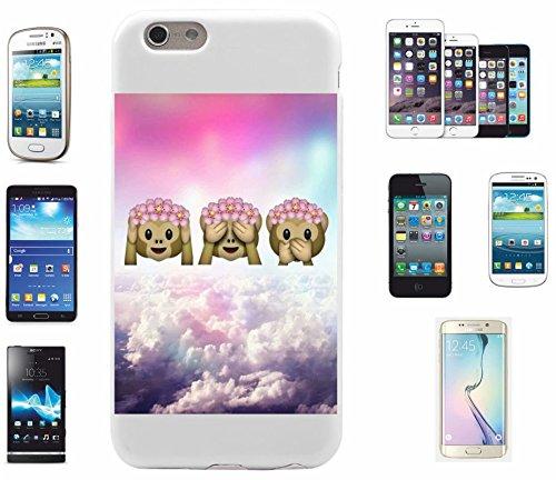 """Preisvergleich Produktbild Smartphone Case Samsung Galaxy S7 edge """"Drei Affen über den Wolken Hören Sehen Sagen Böse"""", der wohl schönste Smartphone Schutz aller Zeiten."""