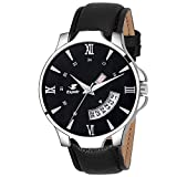 #3: Espoir Analog Day and Date Black Dial Boy's & Men's Watch - InfinityHammer0507