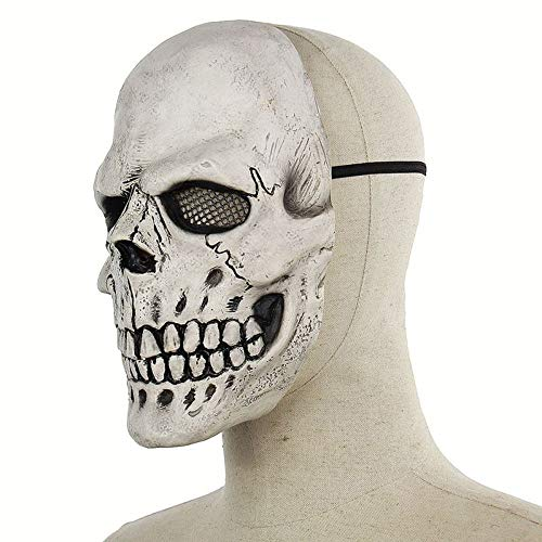 WULIFANG Halloween Horror Maske Teufel Ornamente Simulation Scary Maske Halloween Party Maske
