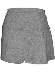 Lanbaosi Jupe Short élastique de Tennis avec Culotte Intégré,Skort de Sport avec des Poches pour Fille et Femme