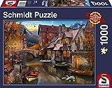 Schmidt Spiele 58355 - Puzzle da 1000 pezzi, soggetto: Heimat Am Kanal