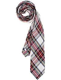 RAY±JAY College Krawatte Baumwolle karriert