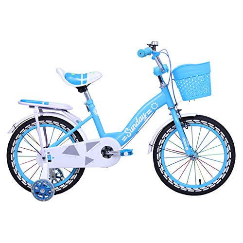 Riscko Bicicleta Infantil Modelo Sunday con Ruedas de 12'' Color Azul
