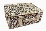 30cm Antique Wash Leere Picknick-Korb