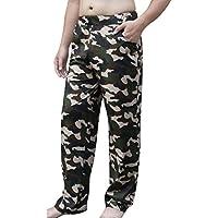 JYR Men's Cotton Comfortable Pajamas Pants Casual Sleepwear Lounge Trousers Home Wear Variety Size Range: S to 6XL
