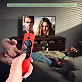 Case for Fire TV or TV Stick Remote,Rukoy Protective Case for 5.9'' Amazon Fire TV or Fire TV Stick Remote with Alexa Voice(Red)