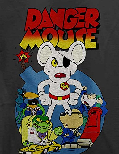 Danger Mouse T-Shirt Grau