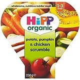 Hipp Organique Pomme De Terre, Potiron & Poulet Scrumble 1-3 Ans 230G