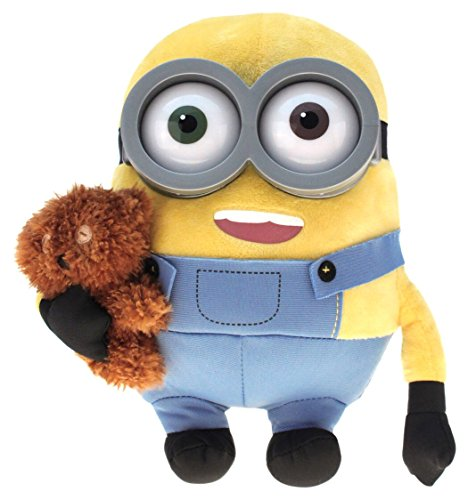 Minion Bob With Bear Plush - Minion Movie - 28cm 11""