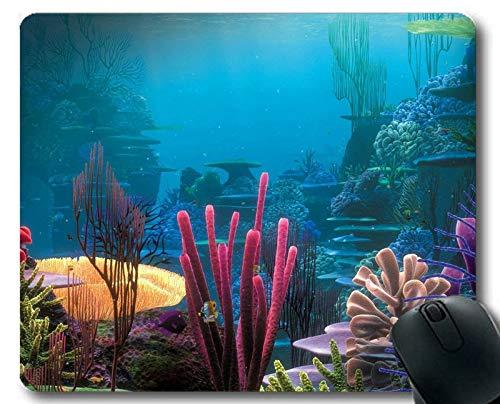 Individuelles Mauspad, Tintenfischmotiv voller Persönlichkeit Gaming Mouse Pads