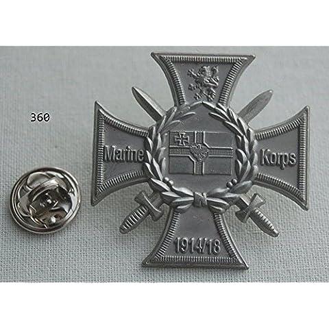 Marine Corpo 1914/18distintivo Mili Taria L Spilla L distintivo L Pin 360
