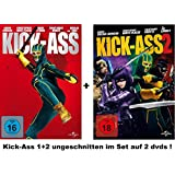 Kickass 1+2 dvd Kick Ass I und & 2 dvds Set uncut