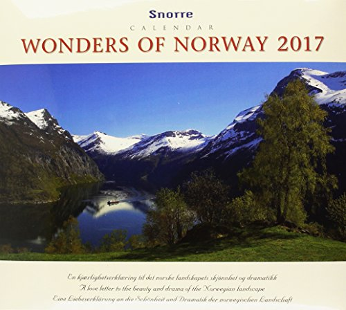 Panorama Norwegen 2017 Tischkalender: Eine Liebeserklärung an die Schönheit und Dramatik der norwegischen Landschaft