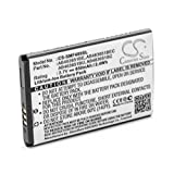 vhbw Li-ION Batterie 650mAh (3.7V) pour Téléphone Smartphone Samsung GT-S3370 Pocket, GT-S3650, GT-S3650 Corby, GT-S3653, GT-S3800, GT-S3830