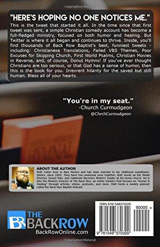 Please Don't Sidehug Me: The Best of Back Row Baptist