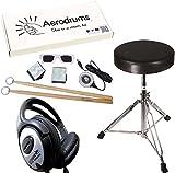 Aerodrums Air-Drumming Schlagzeug E-Drum mit PS3 Cam + KEEPDRUM Drumhocker + Kopfhörer