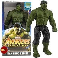KAPAIDASHI Periférico Anti-Hulk Verde Gigante Anti-Bully Puede ser Movimiento y Mano-funcione la decoración del Juguete Modelo,hulkboxed