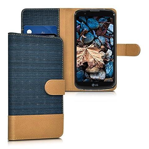 kwmobile Hülle für LG K10 LTE (2016) - Wallet Case