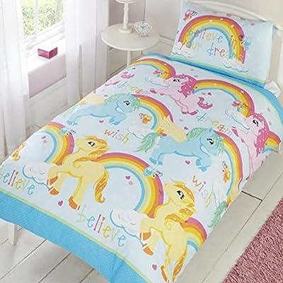 Unicorn Dreams Single Bedding - cheap UK light shop.